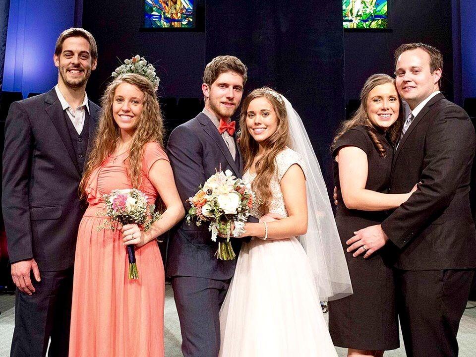 All The Married Duggar S Derrick Jill Dillard Ben Jessa Seewald Josh Anna Duggar