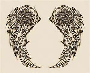 19 Celtic Wings Ideas Celtic Celtic Tattoos Wings
