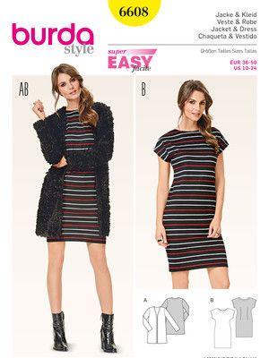 6608 ESB | Jacken,Kimonos etc. | Pinterest | Kleider und Nähen