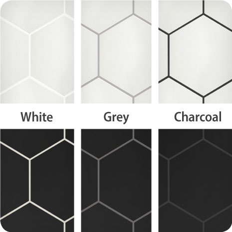 Photo of Merola Tile Metro Hex 2 in. Matte White 10-1/2 in. x 11 in. x 6 mm Porcelain Mosaic Tile (8.21 sq. ft. / case), White/Low Sheen