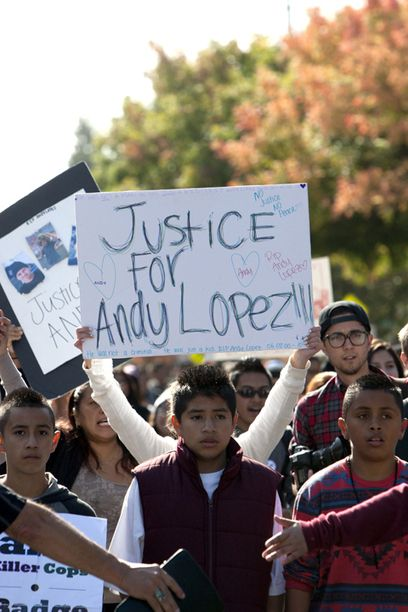 San Francisco Bay View » Andy Lopez, 13, murdered by cop with 'mean gene'