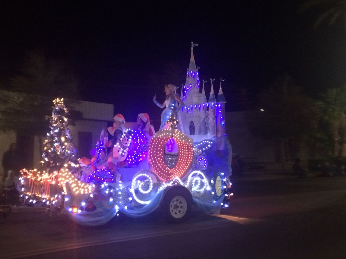 Made by me Fairytale Christmas Cinderella parade float! Lots of ...