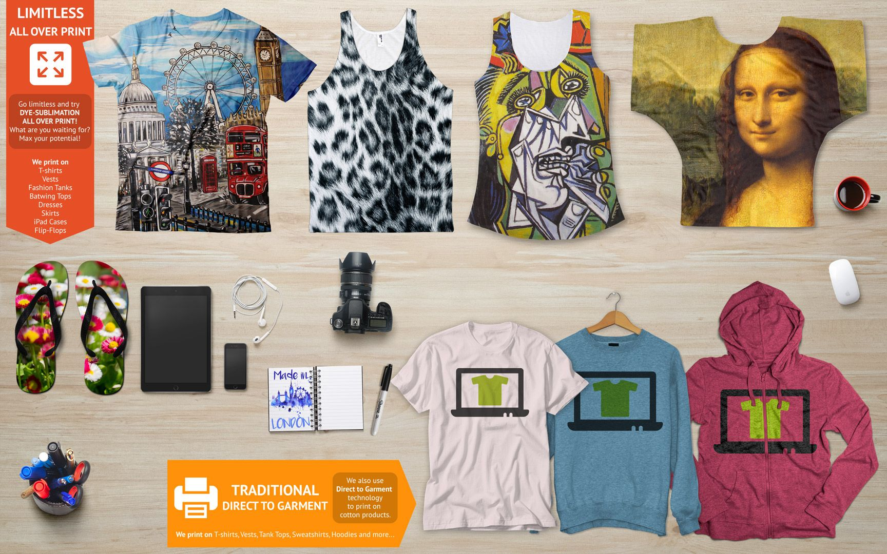 All Over Dye Sublimation Printing Process For The Polyester Garment