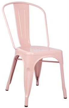 Replica Xavier Pauchard Tolix Chair Powder Coated Matt Blatt 인테리어