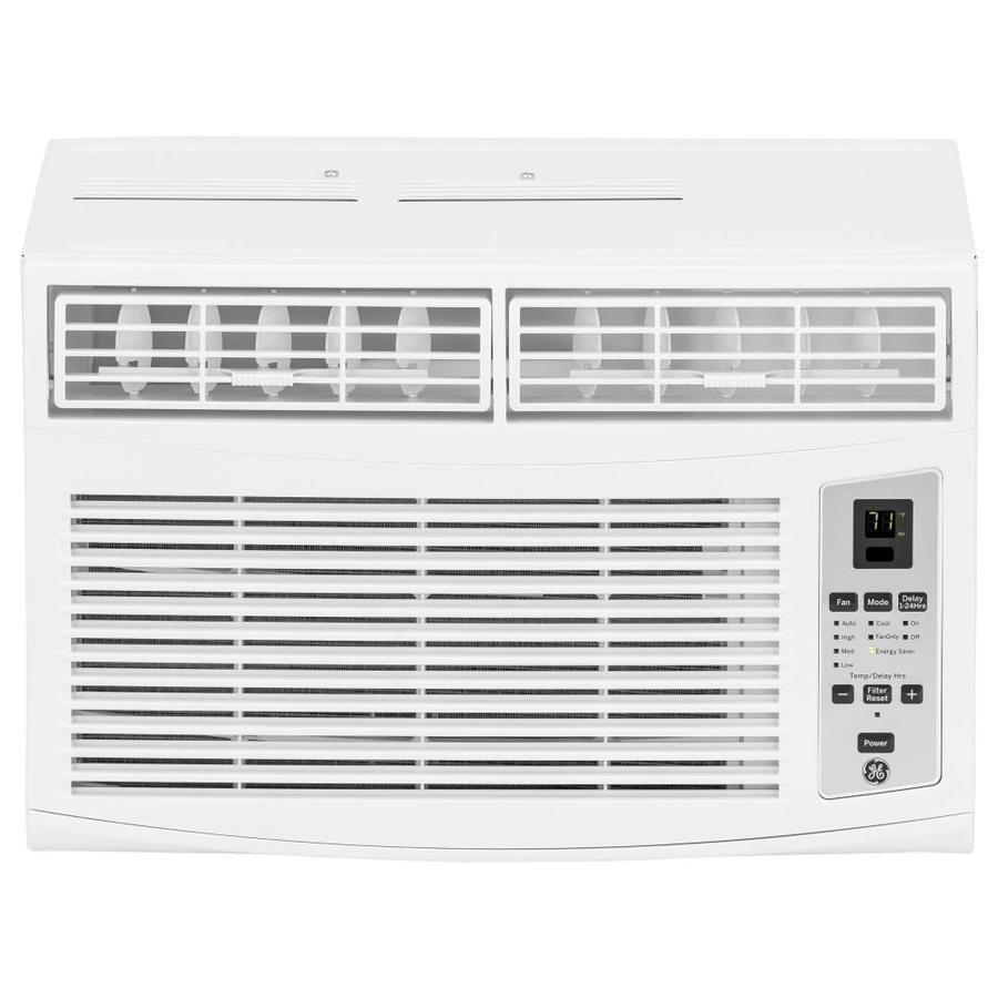 Ge 350 Sq Ft Window Air Conditioner 115 Volt 8000 Btu Energy Star Lowes Com Window Air Conditioner Quiet Window Air Conditioner Window Ac Unit