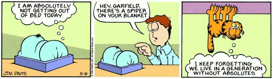 On Your Blanket Garfield Comics Comics Garfield