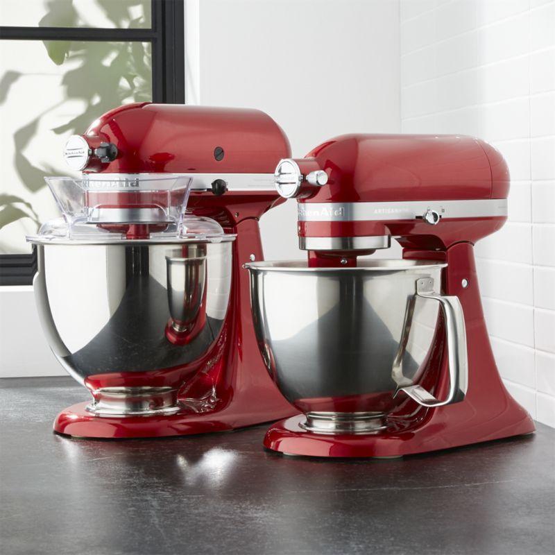 Kitchenaid Artisan Mini Candy Apple Red Stand Mixer With Flex Edge
