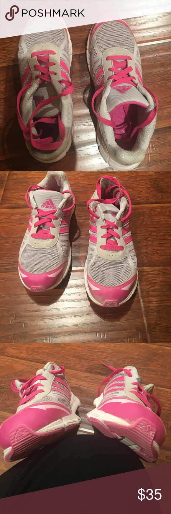 38e8756dd053b Size 5 but I wear a six and used them one year. Euc could use a washing  from dusty roads. Hard to find adidas Shoes Athletic Shoes