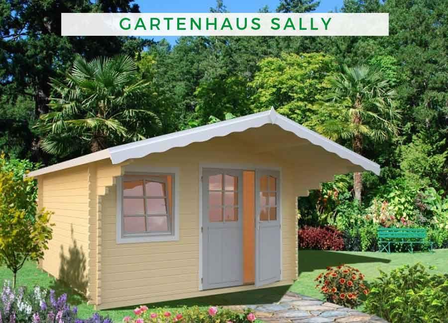 Palmako Gartenhaus Sally 12 3 M Frf44 3838 Gartenhaus Gartengebaude Haus