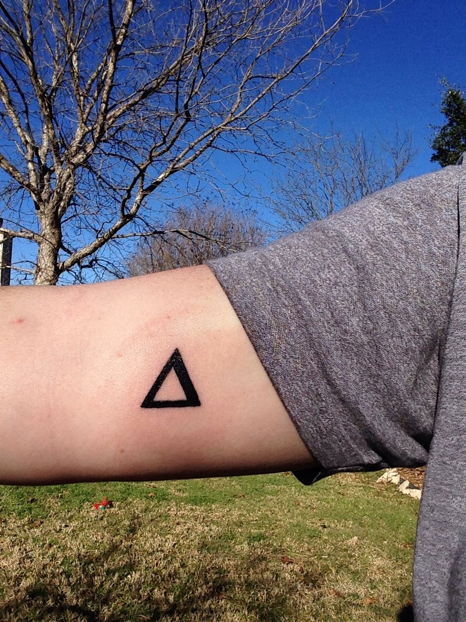Delta The Mathematic Symbol For Difference Or Change Left Arm