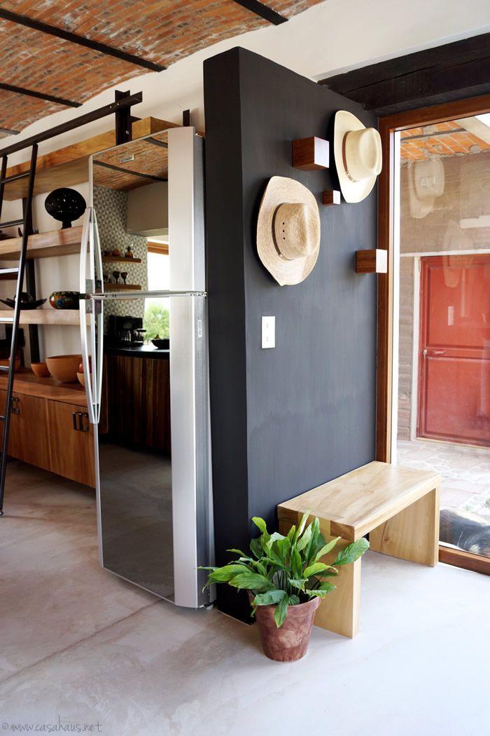 A rustic industrial kitchen makeover / Renovación de cocina estilo rústico…