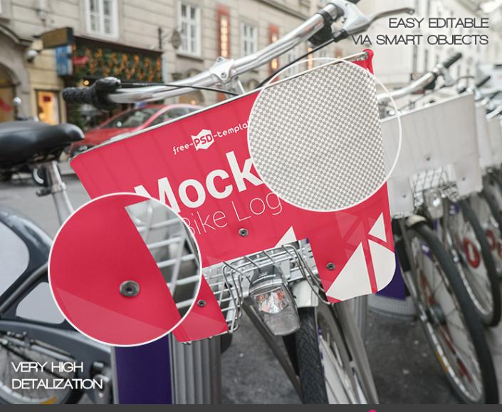 Download Bike Logo Psd Mockup Download For Free Designhooks Logo Psd Bike Logo Mockup Downloads