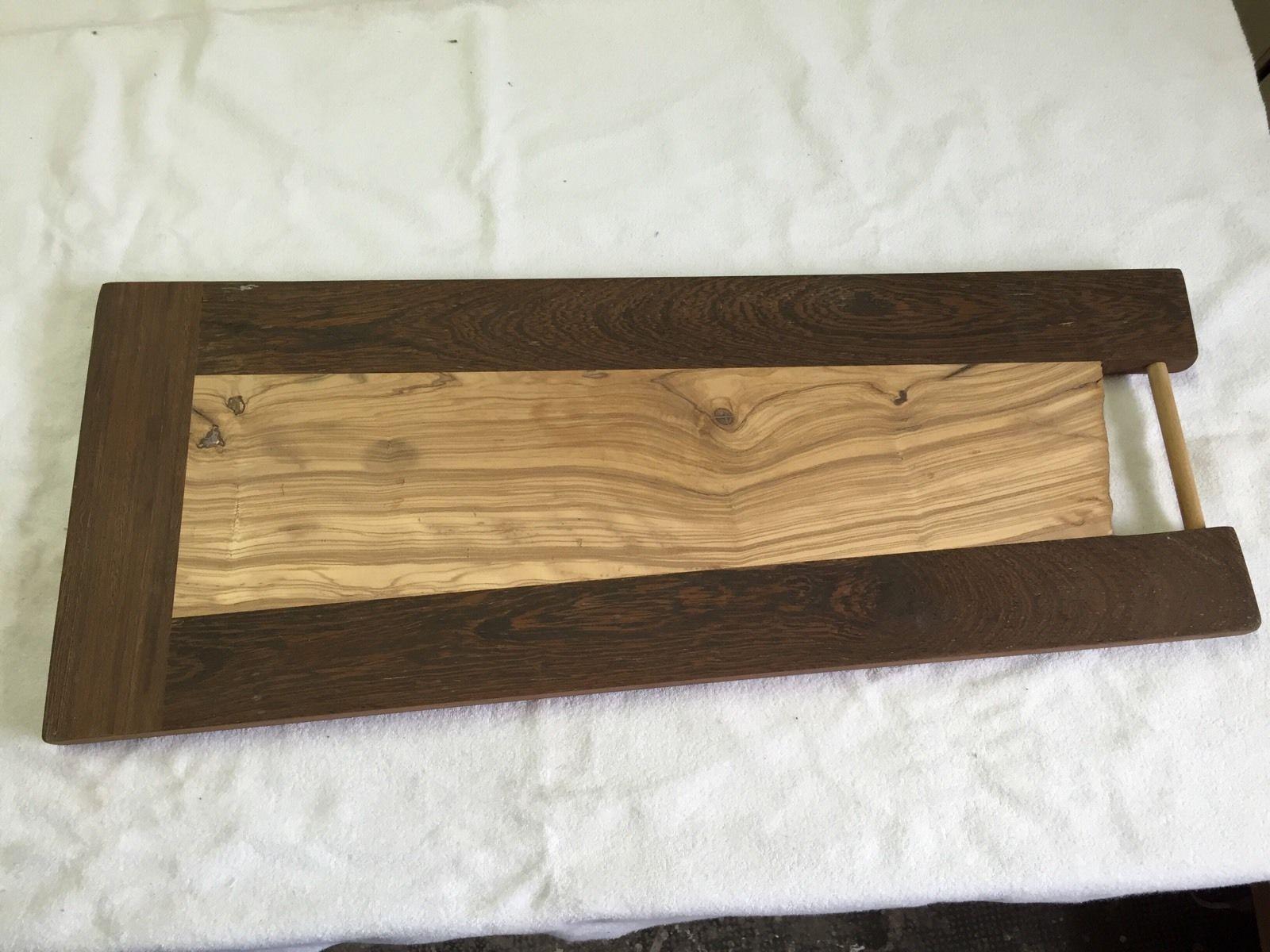 Tagliere Per Piano Cucina tagliere in legno di wengè e ulivo | casa, arredamento e