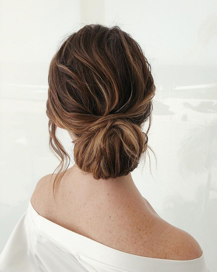 Beautiful updo Hairstyles For A Romantic Bride - Beautiful messy braids and updo hairstyle,Textured updo, updo wedding hairstyles,updo hairstyles,messy updos #weddinghair #wedding #hairstyles #updowedding #weddinghairstyles #messybraids