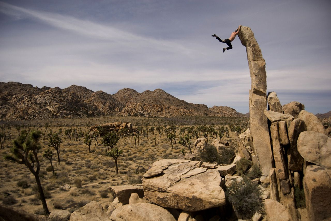 Joshua Tree Dyno Climbing Rock Bouldering And Wanderlust