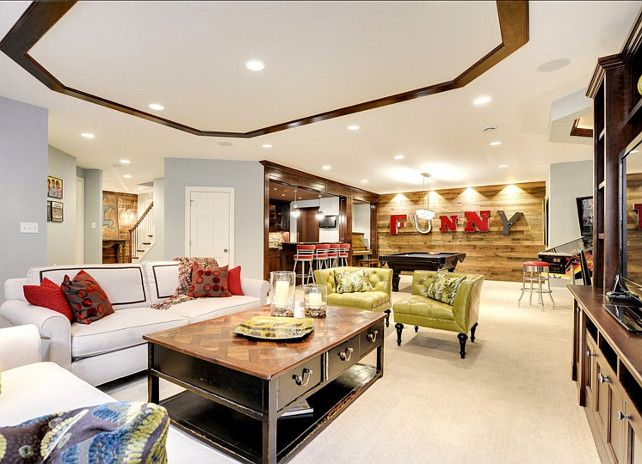 Basement design ideas this is full of great also rh pinterest