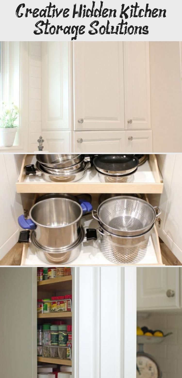 You Will Love All The Creative Hidden Kitchen Storage Solutions In