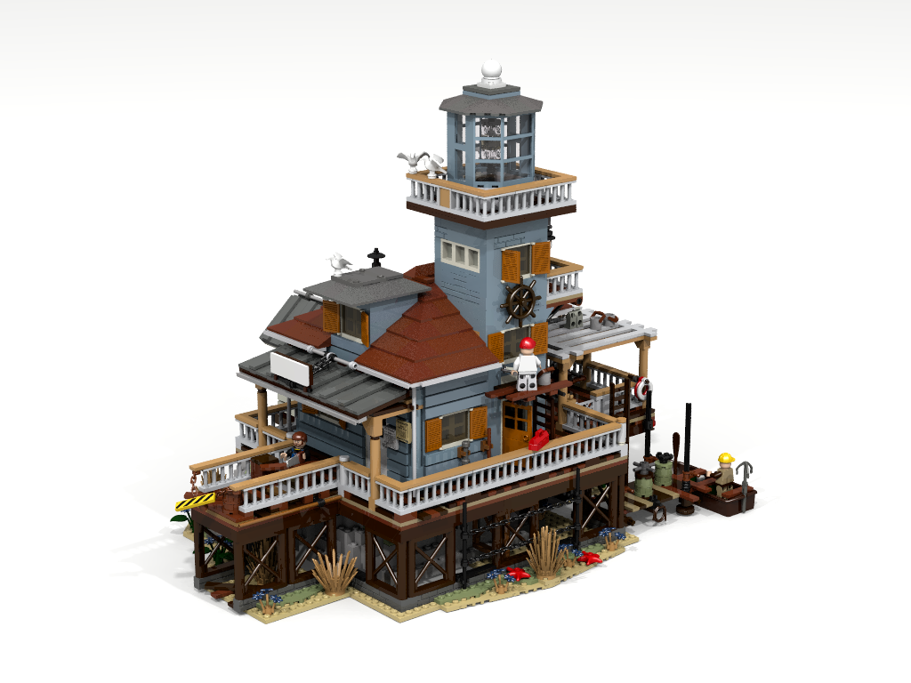 The Lighthouse Buildings Lego Lego Projects Lego Architecture
