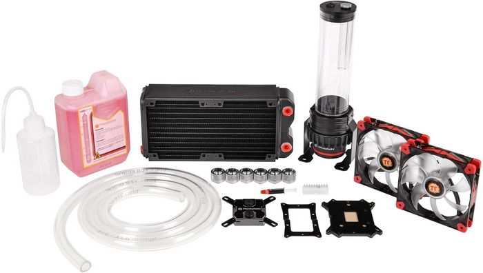 Thermaltake Pacific Rl240 Water Cooling Kit Review With Images