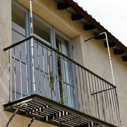 Outdoor Balcony With Iron Design, Pictures, Remodel, Decor ...