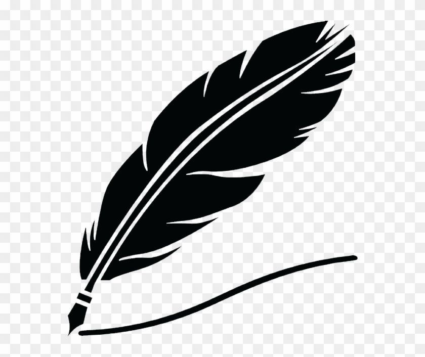 Find Hd Cropped Silhueta Pena Com Tinta Preta 318 33856 Transparent Background Feather Pen Png Png Download To Search And Download Pen Icon Feather Pen Png