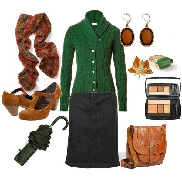 green and tan minus jewelry