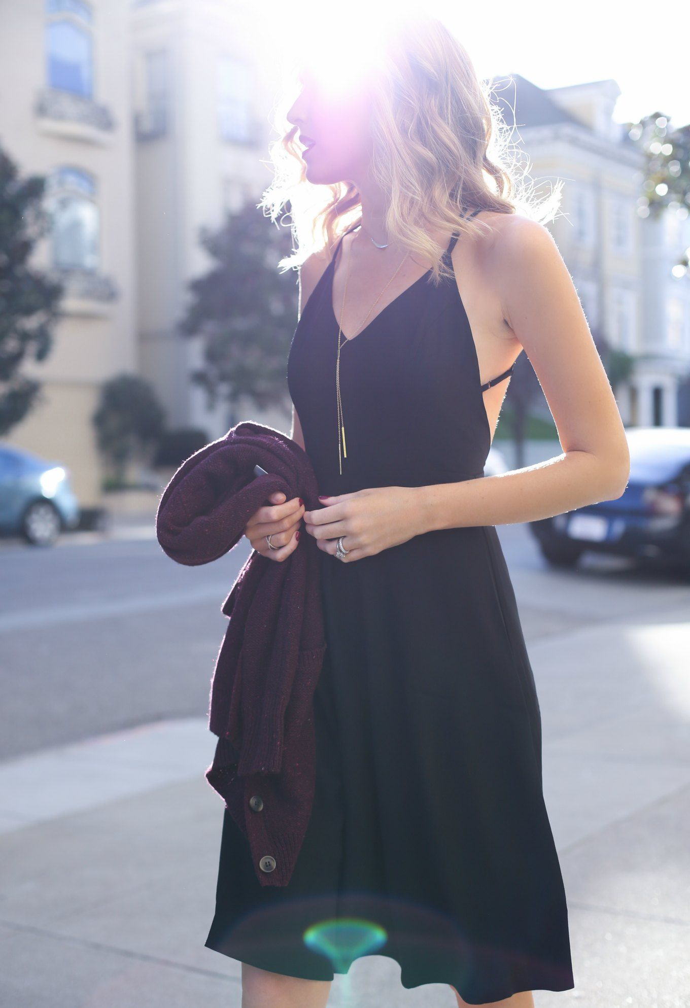 Day to Night: Slip Dress + Long Cardigan | MemorandumMEMORANDUM, formerly The Classy Cubicle