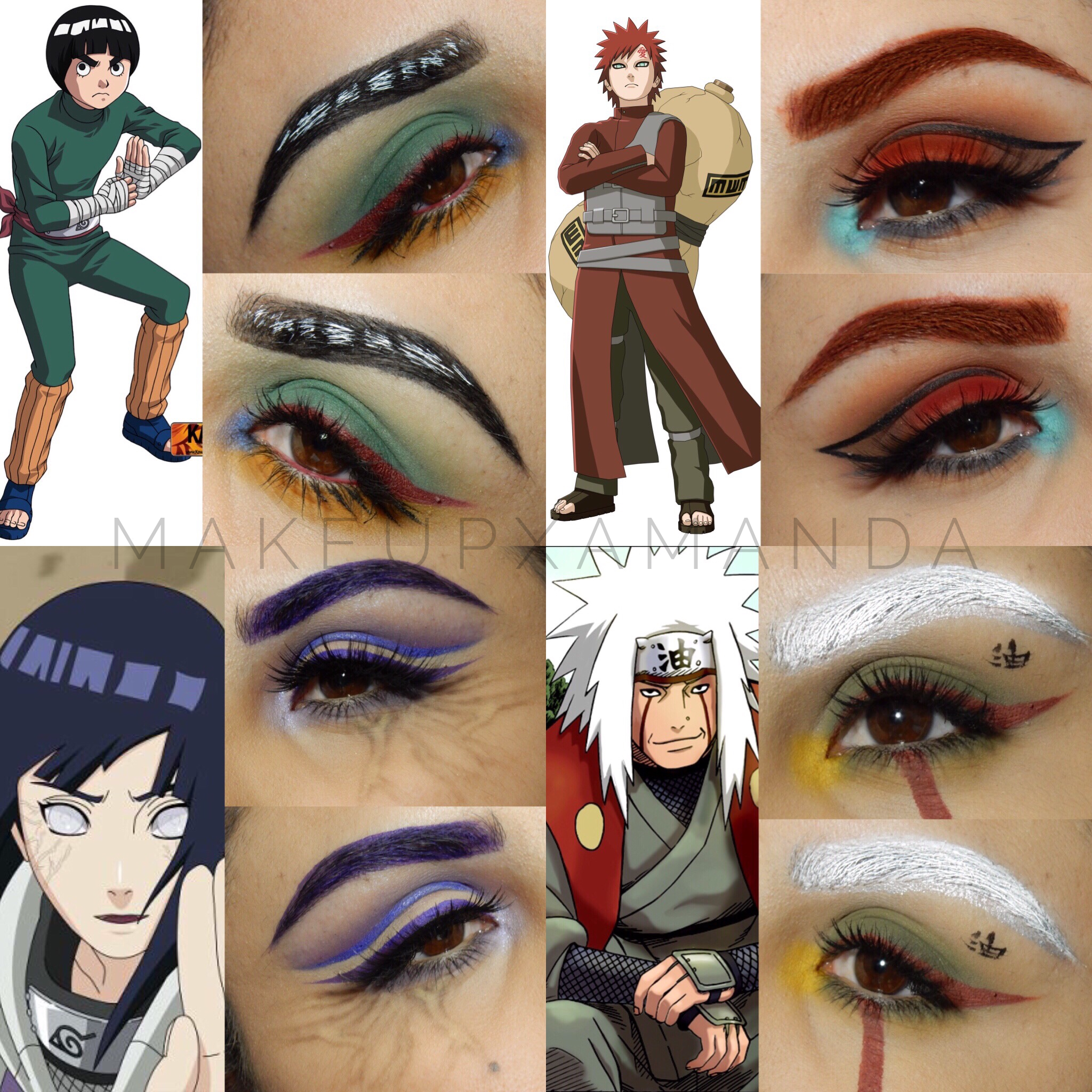 Best Of Naruto Makeup Palette And View in 2020 Anime