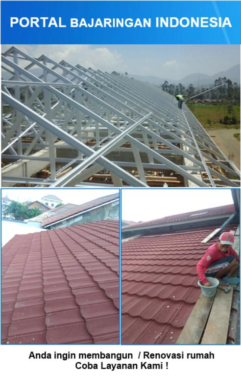 menghitung kebutuhan baja ringan untuk atap dengan tool excell ini anda dapat reng