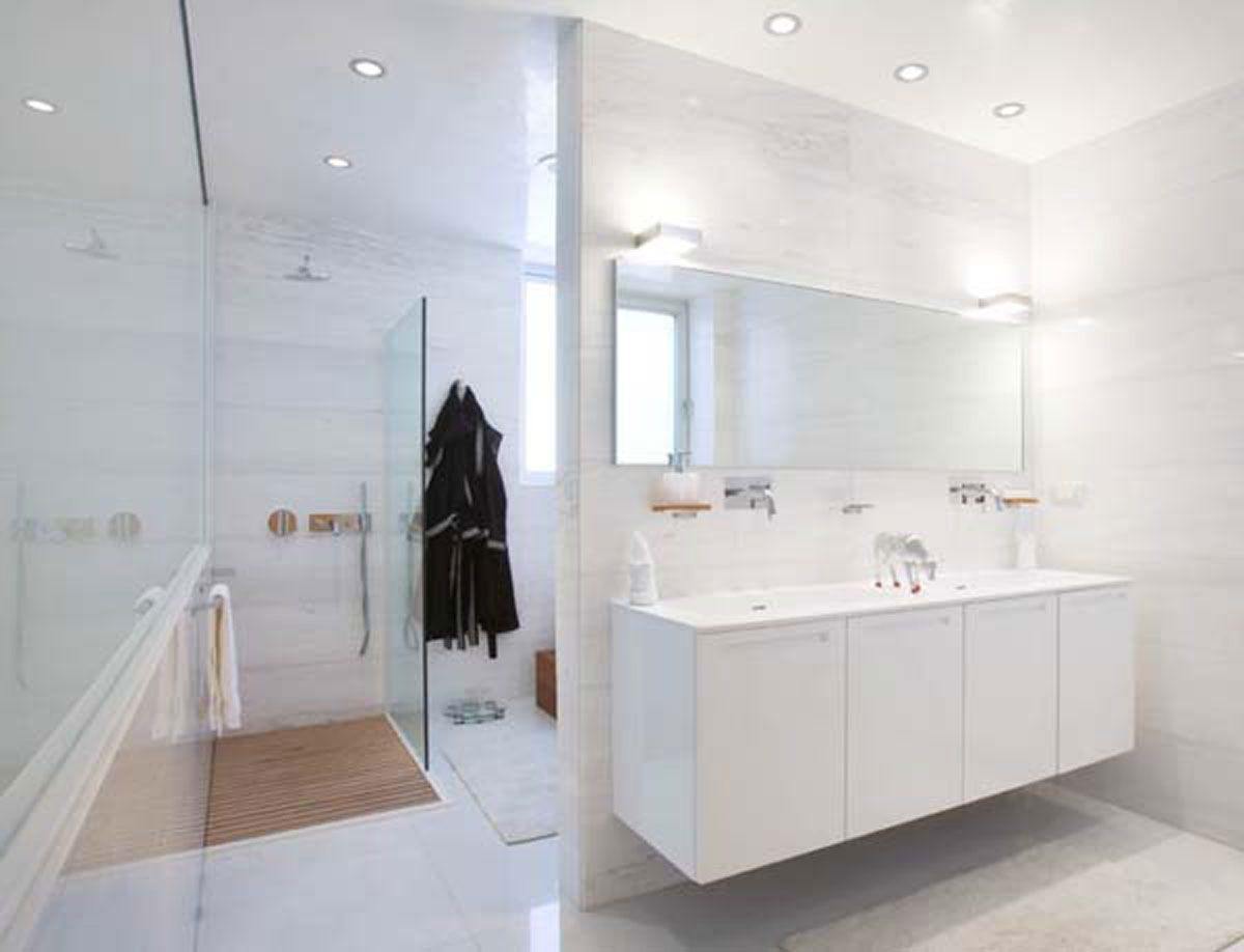 Bathroom Images White Bathroom Design Pinterest - Wall texture ideas for bathroom for bathroom decor ideas