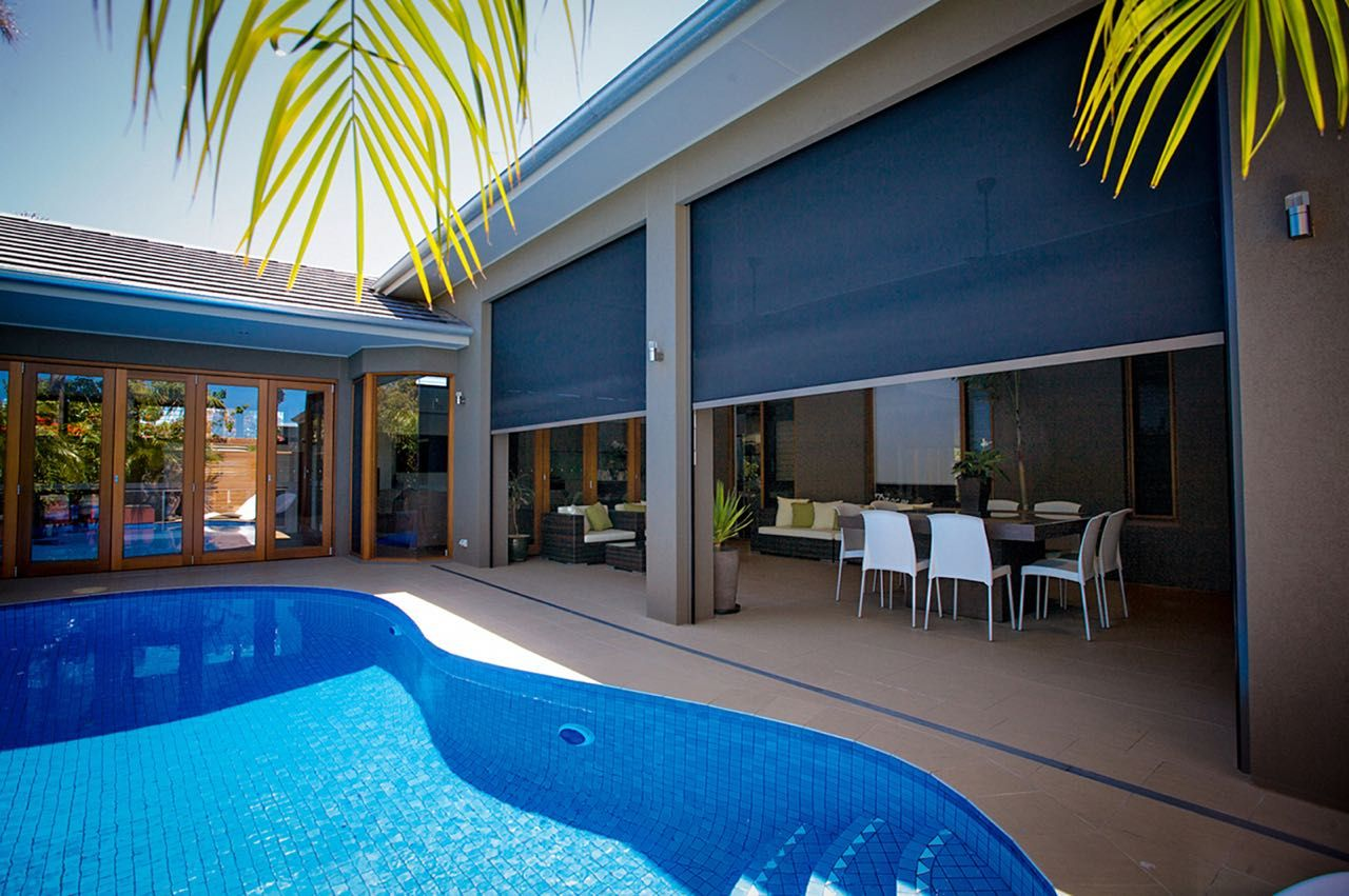 Outdoor Blinds And Awnings Adelaide Locally Made Quality Affordable In 2020 Outdoor Blinds Blinds For Windows Blinds Design