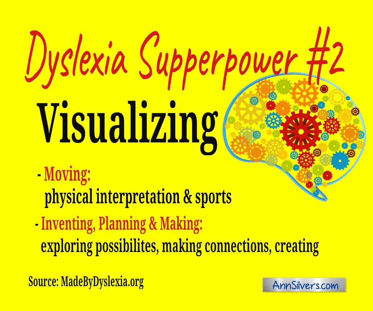 Six Positive Characteristics Of Dyslexia In