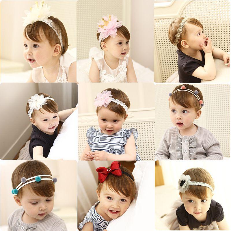 Bow Kids Baby Princess Crown Hair Headwear Girls Accessories Toddler Headbands