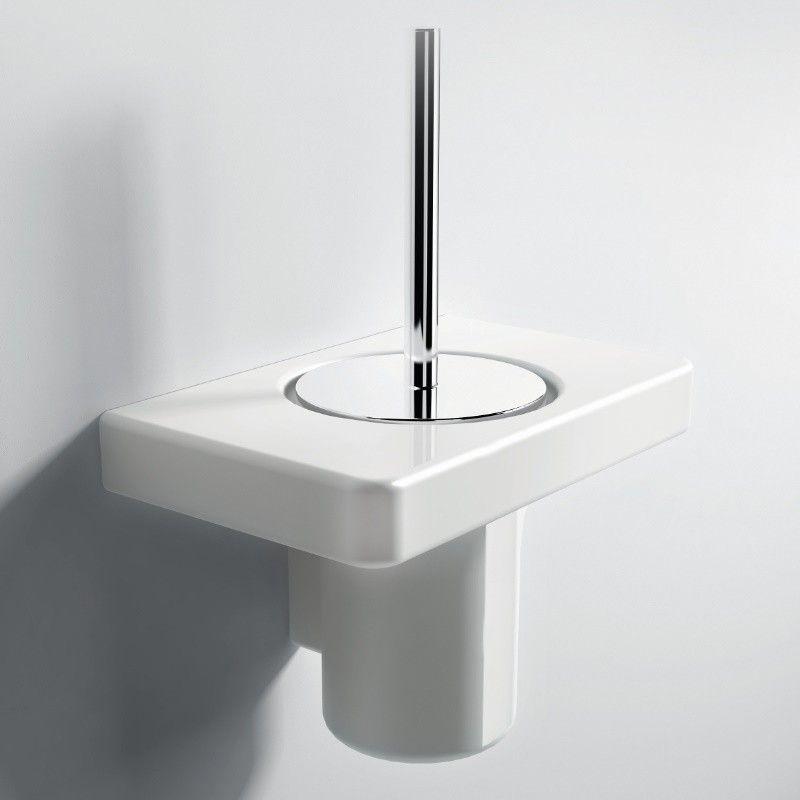 Hidra Ceramica Wandhangender Toilettenburstenhalter Piano