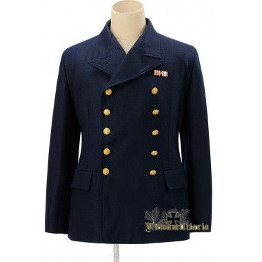 Kriegsmarine Officier Tunique Marine Naval Surplus Vintage Veste Uniforme
