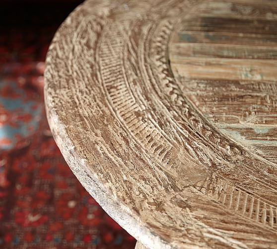 Bullock Cart Wheel Coffee Table