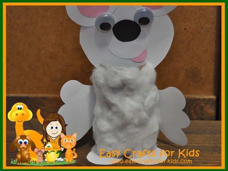 Easy Winter Crafts For Kids A Fun And Fuzzy Polar Bear