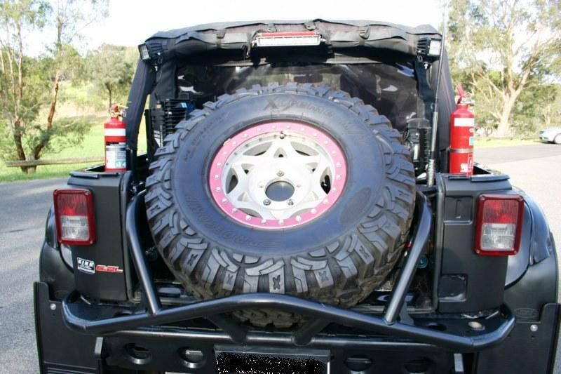 Brainstorming On Spare Tire In Cargo Area Storage Ideas Jkowners