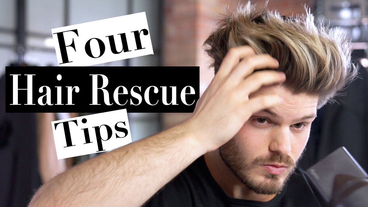4 Hacks For Dry Damaged And Frizzy Hair Men S Hair Tips 2017