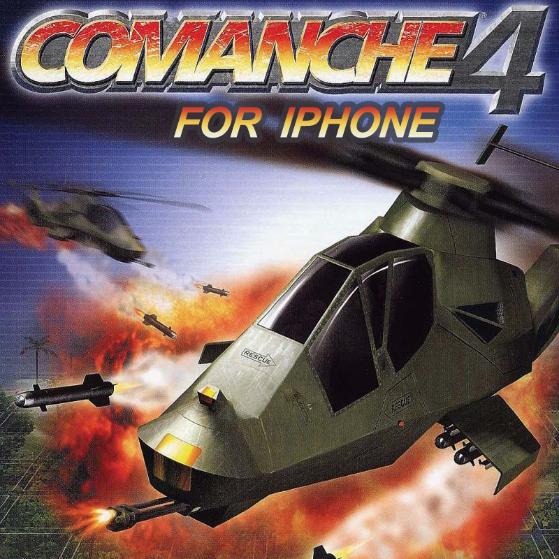Comanche 4 for iPhone (canceled) Game programmer