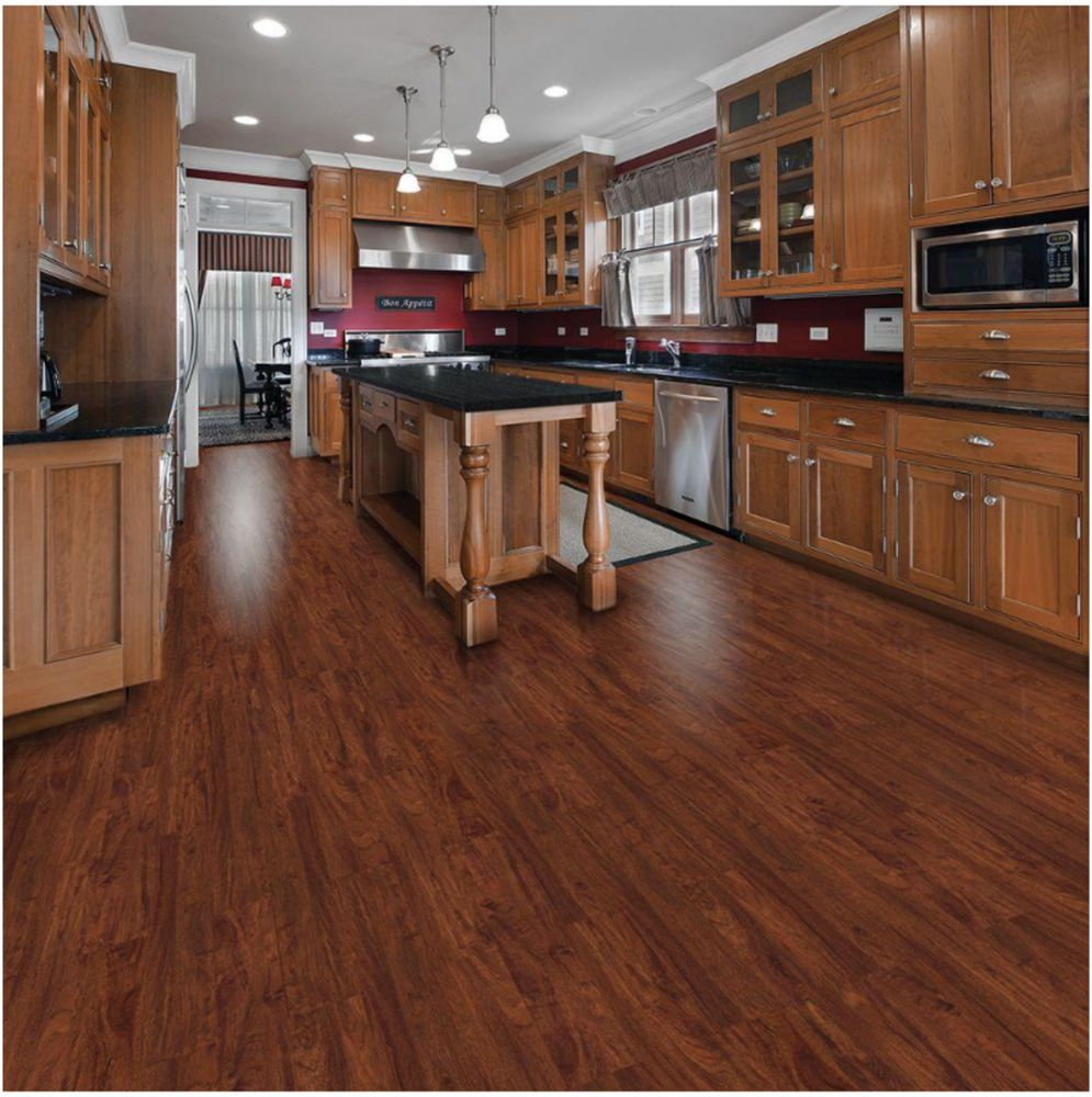 16 X 6 Quot X 36 Quot Cherry Color Wood Like Vinyl Planks Flooring