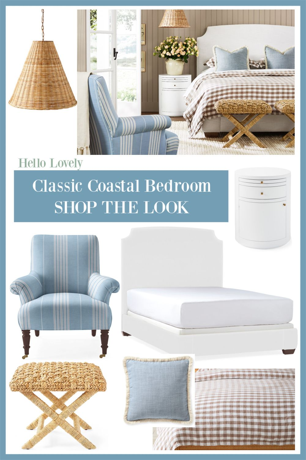 Coastal Homes, Timeless Classic Interiors & Freshened Traditional Style to Inspire - Hello Lovely