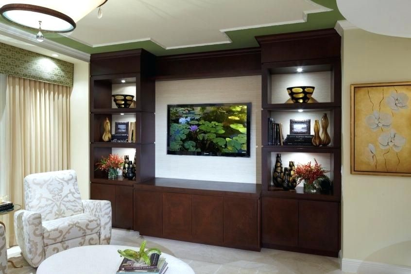 Decoration Modular Wall Showcase Design For Hall Designs Home In