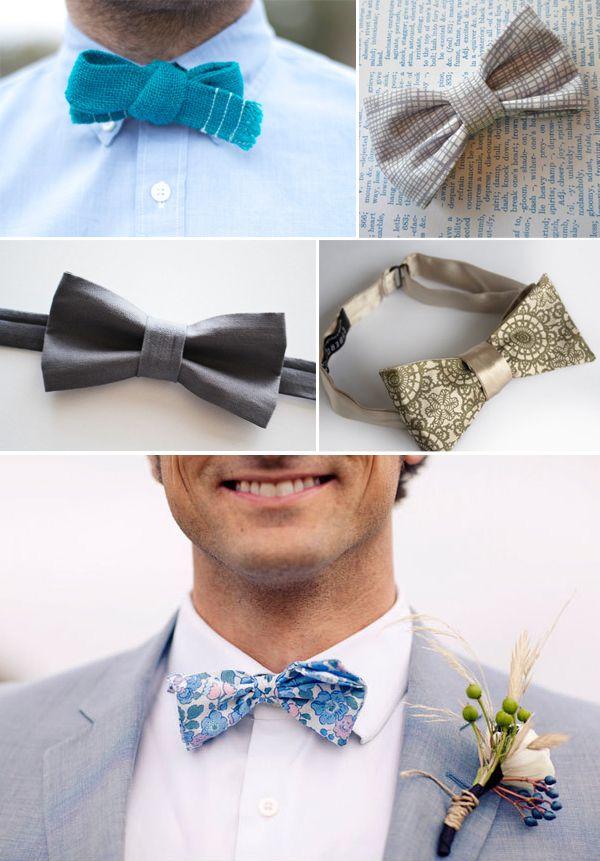 unique bow ties via Etsy