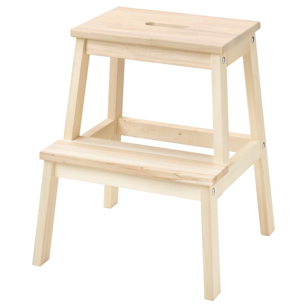 BEKVÄM Step stool aspen 50 cm Ikea step stool, Step