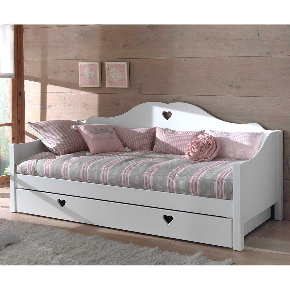 Sofabett Ciomore In Weiss Mit Bettkasten Kinderzimmer Bed With