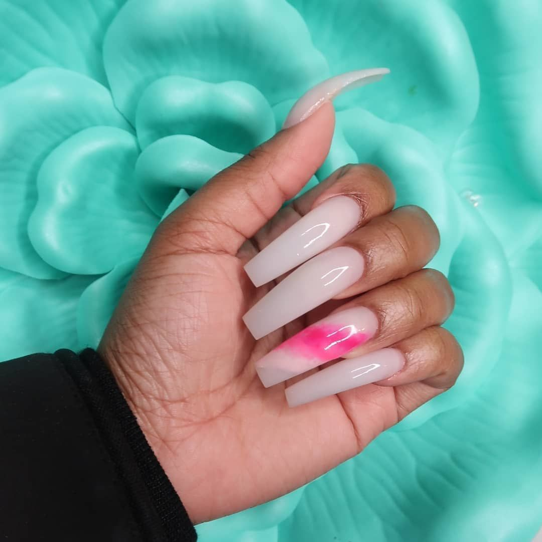 4 300 Likes 19 Comments Chicago Nail Tech Breevnna On Instagram Thankful For My Lovely Cli In 2020 Long Acrylic Nails Pretty Acrylic Nails Cute Acrylic Nails