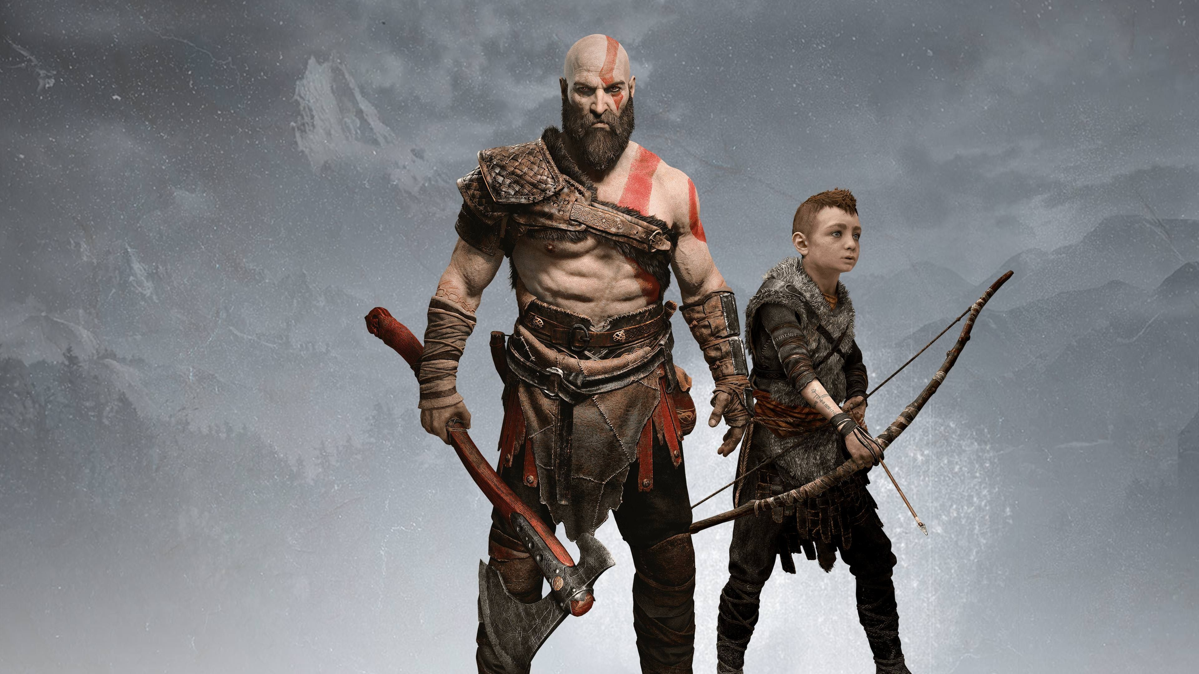 God Of War 4 God Of War Kratos God Of War 4k Gaming Wallpaper