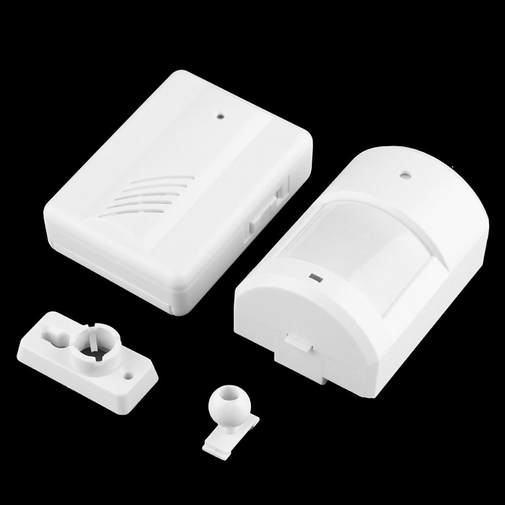 outdoor security wireless home garage sensors alert alarm pir system driveway pin
