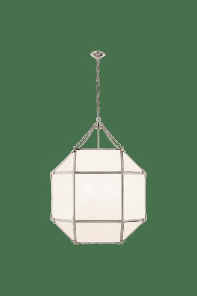 Morris Large Lantern Large Lanterns Visual Comfort Polished Nickel